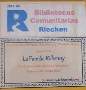 Gracias Familia Kilkenny