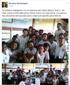 Alumnos de la Escuela José C. del Valle (Cuyalí) están poniendo en práctica la tecnología en sus tareas mediante las webquest.