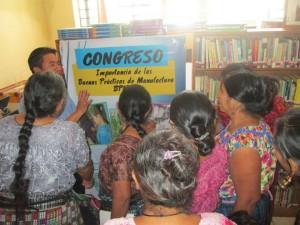 Bibliotecas comunitarias coordinan procesos formativos con otras organizaciones locales (Biblioteca  de San Juan La Laguna, Guatemala)