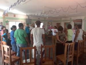 Jóvenes fortalecen su liderazgo basado en valores éticos (Biblioteca de Guacamaya, en El Progreso, Honduras)