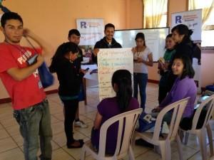 Jovenes de Xolsacmalja planifican sus procesos de mapeo comunitario