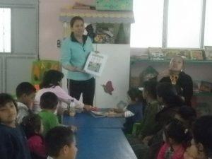 Niños de Chiché participan en Aflatoun